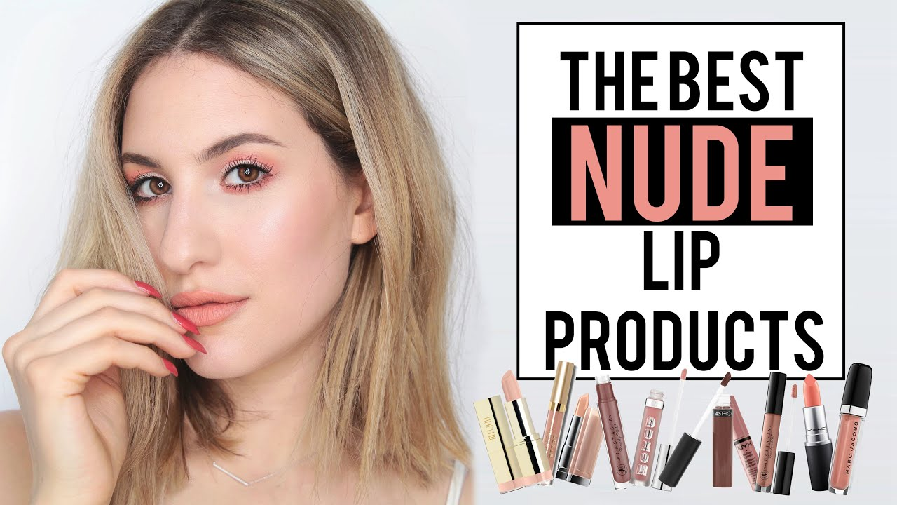 the best nude lip products! | drugstore and high end