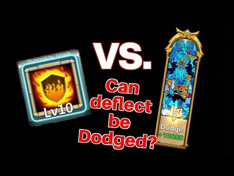 Can Deflected Damage Be Dodged? | Castle Clash | Ft Dove Keeper And Walla Walla