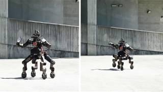 得意技は空手チョップ。半人半獣タイプの災害対応ロボット「ケンタウロ」未来の救世主になるための開発が進められる