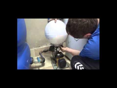 Como cambiar la membrana en una hidroesfera o bomba de for Cambiar bomba de agua