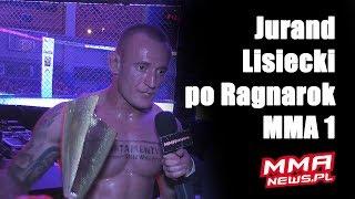 """Jurand Lisiecki po wygranej na Ragnarok MMA 1: """"Robię MMA dla przyjemności, a nie dla pieniędzy."""""""