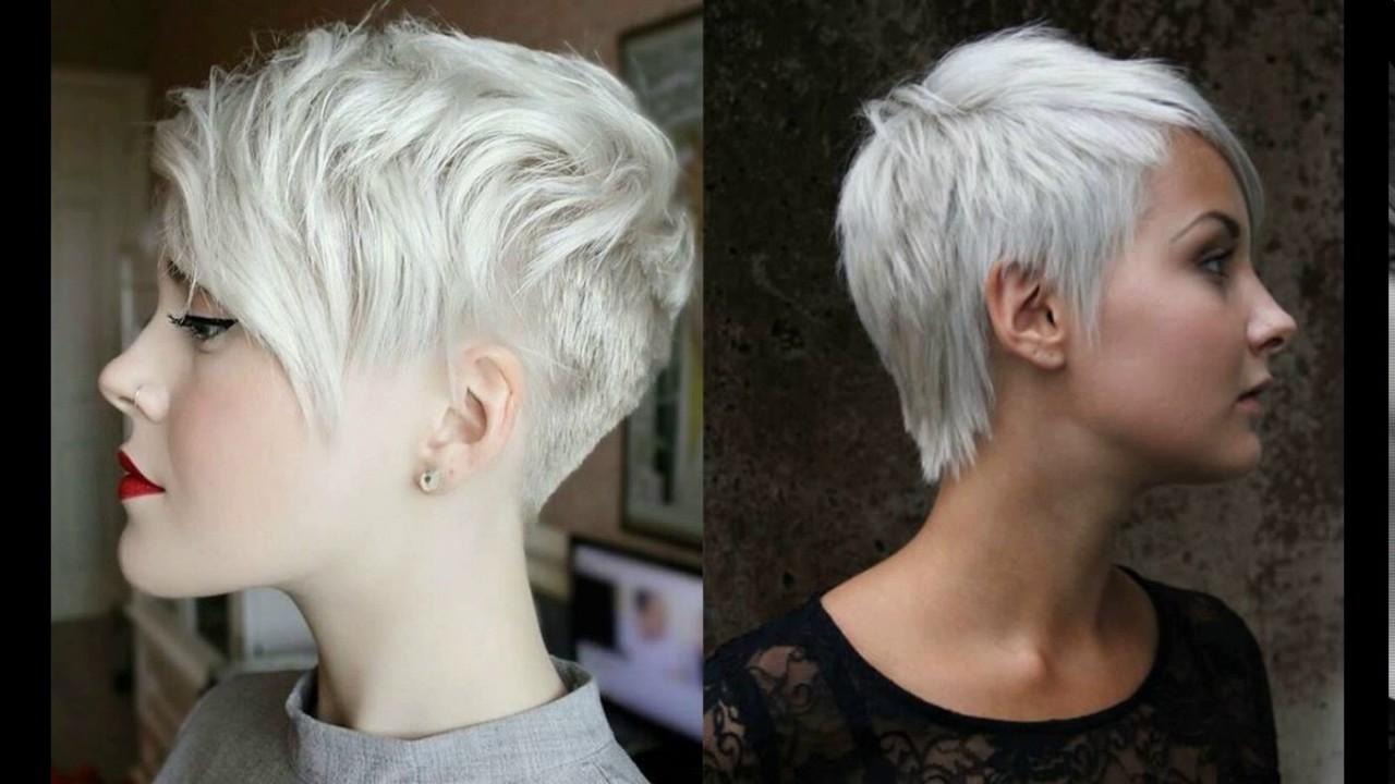 short pixie haircuts gray hair