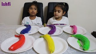 Learn Color with Banana & Finger Family Nursery Rhymes from Rufi Ishfi