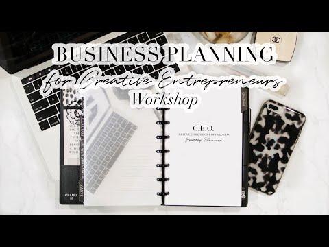 BUSINESS PLANNING FOR CREATIVE ENTREPRENEURS