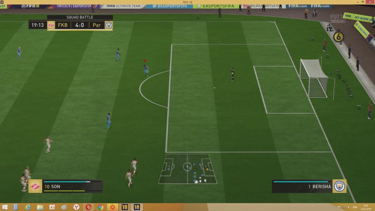 FIFA 18 НОВЫЙ БАГ В СКВАД БАТЛС | FIFA 18 NEW BUGS IN SQUAD BATTLES