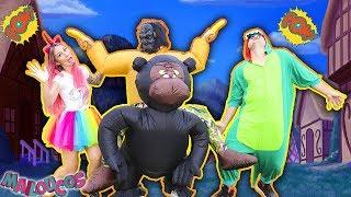 OS SUPER MALOUCOS EM: O VÍLÃO MACACORILA SUPER PERIGOSO ! ( Super Powers )