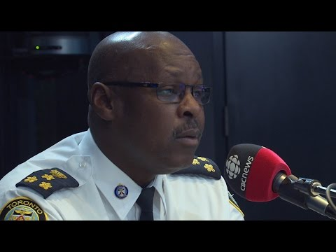 Full Metro Morning feature interview: Toronto police chief Mark Saunders on Toronto's gun violence
