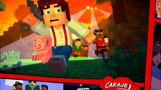 Vídeo Minecraft: Story Mode - Episode 4: A Block and a Hard Place
