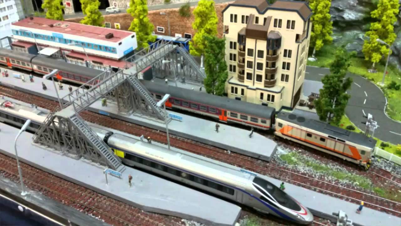 Plastico ferroviario San Filippo - YouTube