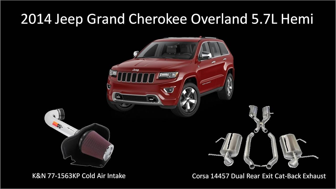 Jeep Grand Cherokee Overland >> 2014 Jeep Grand Cherokee Overland 5.7L Hemi Corsa Exhaust ...