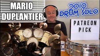 Drum Teacher Reacts: MARIO DUPLANTIER (Gojira)   Drum Solo 2019 (2020 Reaction)