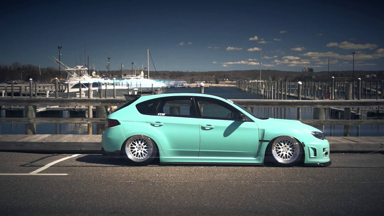 2013 Subaru Impreza Wrx Hatchback >> PHENOMenal Vinyl - Matte Mint Green STi - YouTube