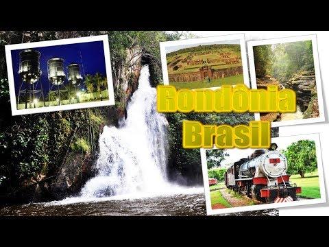 Turismo no Brasil em Rondônia | 3D Parallax | PowerPoint 3D | Tourism in Brazil