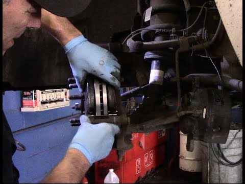How to replace front brakes and rotors 2007-2013 Chevy Silverado
