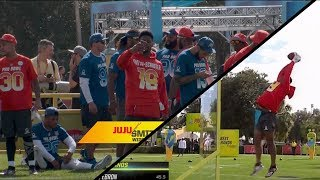 JuJu Wins the Pro Bowl Skill Challenge!