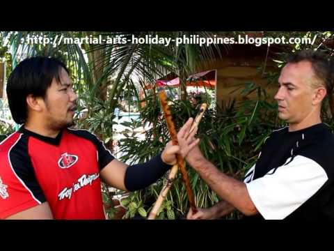 Philippines Stick Fighting Training Camp with Knife Defense Cebu