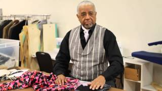 Gentleman Jim Tie Sew Along--Session 1, Video 3: Tie Fabrics Details