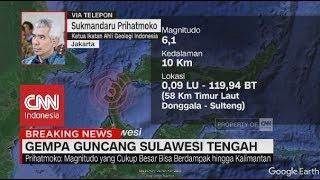 Dampak Gempa 7,7 Magnitudo Guncang Sulteng Menurut Ahli Geologi