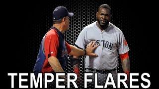 MLB: Temper Flares