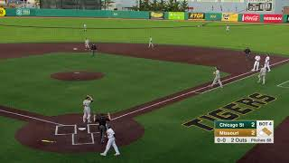 HIGHLIGHTS: Mizzou Baseball defeats Chicago State, 5-3
