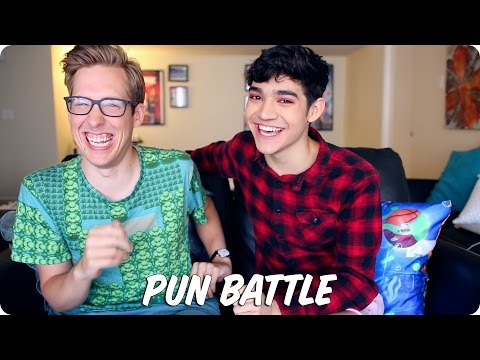 PUN BATTLE! | Evan Edinger VS Ben J Pierce