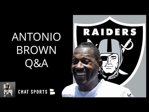 antonio-brown's-chemistry-with-derek-carr-at-raiders-training-camp,-2019-stats-predictions-|-mailbag