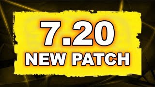 Dota 2 NEW 7.20 UPDATE - Main Changes!
