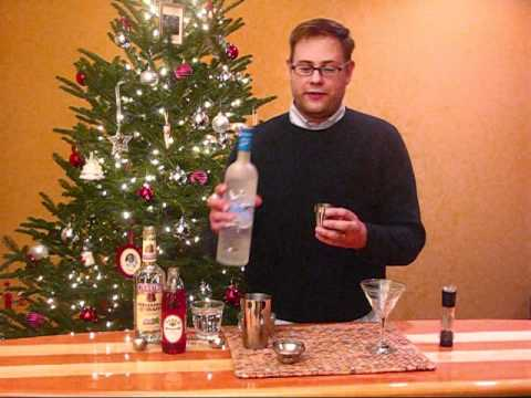 How to make a Candy Cane Martini by Lime...