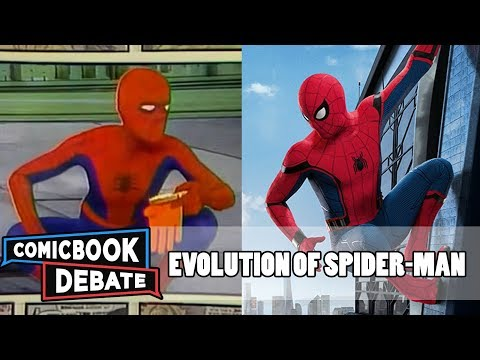 Evolution of SpiderMan in Movies and TV in 7 Minutes 2017