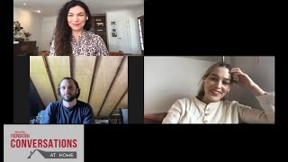 Conversations at Home with Penn Badgley, Victoria Pedretti & Sera Gamble of YOU