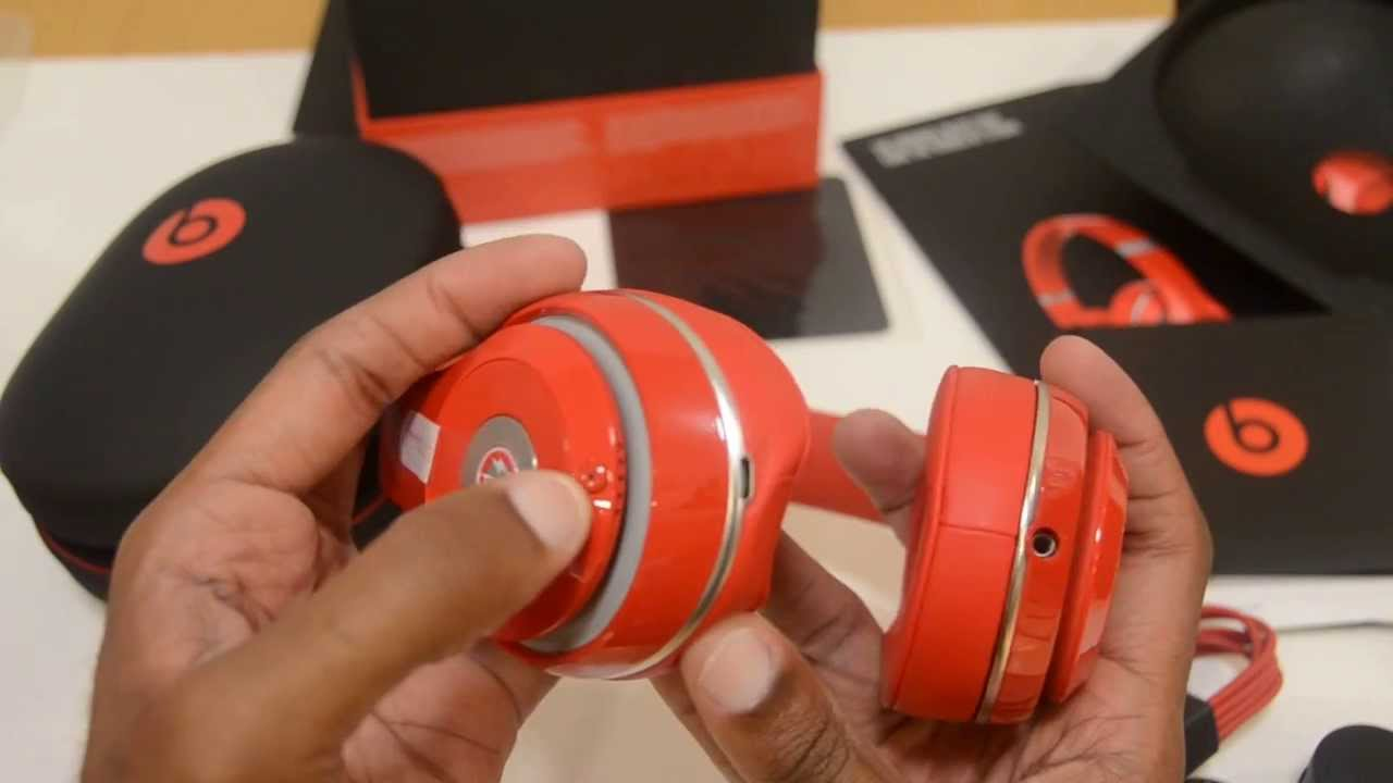 beats by dre studio red 2013 unboxing   youtube