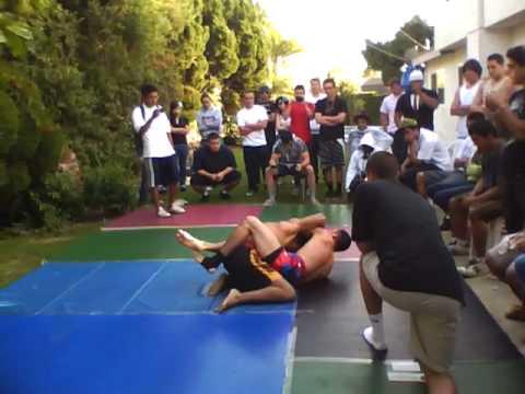 MMA Fight Night 3- 26-10 Andrew vs Cesar part 2