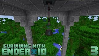 Surviving With Ender IO :: E03 - Relocator Obelisk & Vacuum Chest