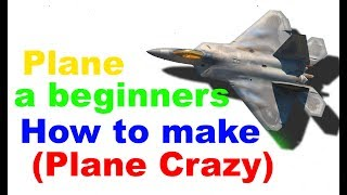 Beginner plane (Roblox Plane Crazy)