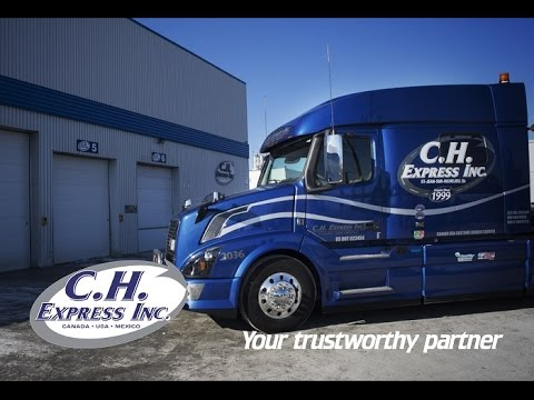 C.H. Express Inc. Flatbed Transport Canada USA Mexico 2016