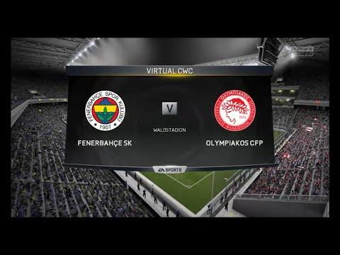 Fenerbahçe SK-Olympiakos CFP FIFA 15 CWC Round of last 16 [2/8]