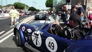 Coupe Florio : Les voitures de collection animent St-Brieuc
