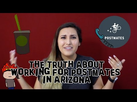 The Truth About Working For Postmates In Arizona