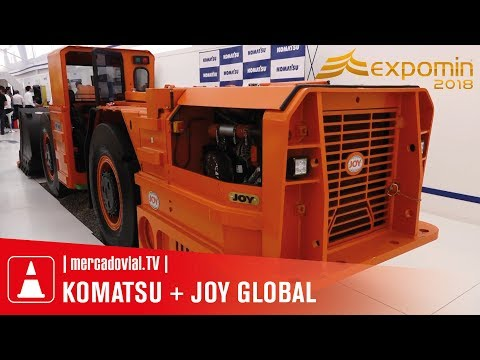 KOMATSU + JOY GLOBAL - Estrategia | Stand en Expomin Chile 2018 | Mercado Vial TV