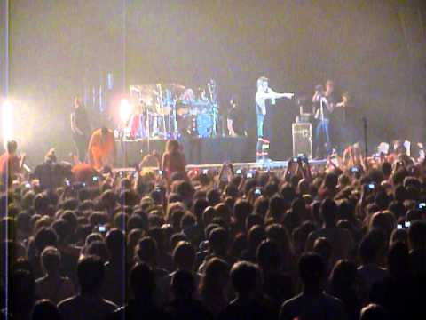 30 Seconds To Mars - Enter Sandman (Metallica's cover) 08.11.2011, Łódź