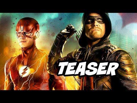 The Flash Season 5 Crossover Teaser - Episode Breakdown