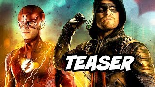 The Flash Season 5 Crossover Teaser - Episode Breakdown