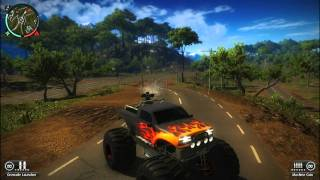 Just Cause 2 All 5 DLC Vehicles.[HD]
