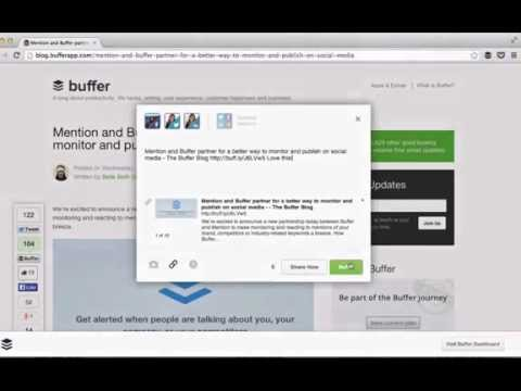 Getting Started With Buffer