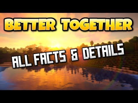 Minecraft Better Together Update Details, Facts & Release Date-PS4 Survival Gameplay