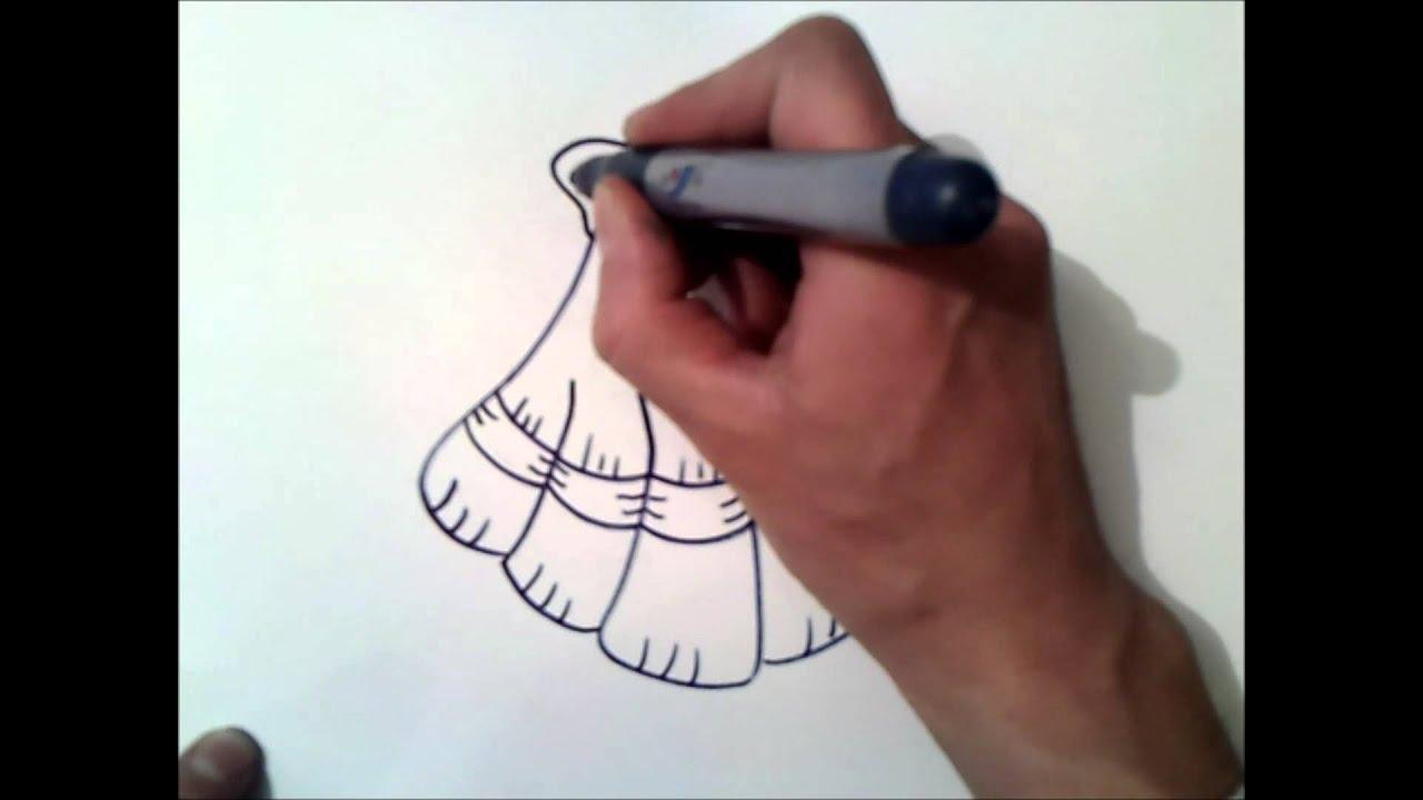 Como dibujar una concha de mar como dibujar una concha - Como hacer conchas finas ...