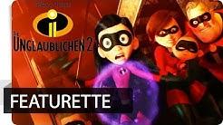 Die Unglaublichen 2 - Featurette: Im Synchronstudio   Disney•Pixar HD
