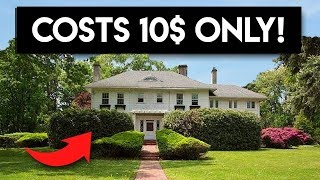 10 Famous Mansions No One Wants To Buy For Any Price!