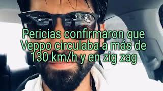 EUGENIO VEPPO: confirmaron que circulaba a más de 130 km/h y en zig zag
