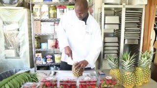 Edible Pineapple Strawberry Fruit Tree Tutorial